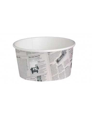 Cubo de cartón periódico. Varias medidas (500 Uds) Precio unitario 0,21€