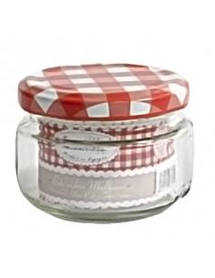 Bote mermelada vidrio ø 7 x 5,5 cm 135 ml. (12 Uds) Precio unitario 0,65€