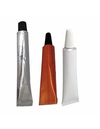 Tubo aluminio 30 ml (100 Uds) Precio unitario 0,46€