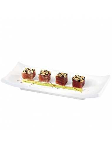 Bandeja para sushi zen blanca ó negra