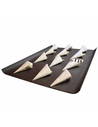 Bandeja baquelita wengue 60 x 42 cm (1 Ud) Precio 29,04€