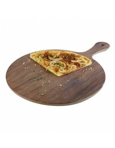 Tabla melamina redonda imitación madera roble ø 30 x 1,5 cm. (1 Ud) Precio unitario 26,67€