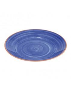 Plato melamina la vida azul. Varias medidas (1 Ud) Precio unitario desde 35,09€