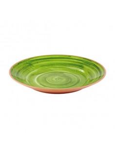 Plato melamina la vida verde. Varias medidas (1 Ud) Precio unitario desde 35,09€