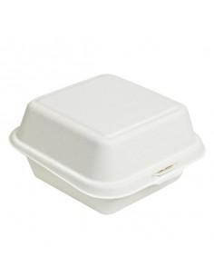 Envase pulpa para hamburguesa 15 x15 x 8 cm (500 Uds) Precio unitario 0,26€