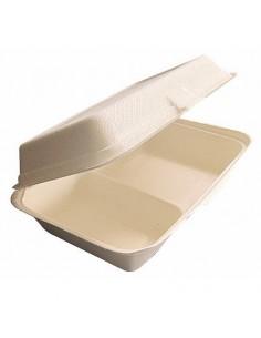 Envase doble pulpa. 23 x 16,5 x 6 cm 1L (500 Uds) Precio unitario desde 0,37€