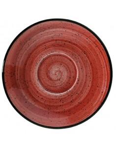 Plato Porcelana Capuccino Passion Gourmet. ø16 cm (12 Uds). Precio unitario desde 5,16€