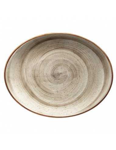 Fuente oval Porcelana Passion Moove 31 x 24 cm (6 Uds). Precio unitario 38,49€