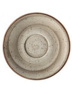 Plato Porcelana Capuccino Terrain Gourmet. ø16 cm (12 Uds). Precio unitario desde 5,16€