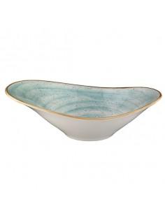 Bowl oval Porcelana Aqua 27 x 18 cm (6 Uds) Precio unitario 39,38€