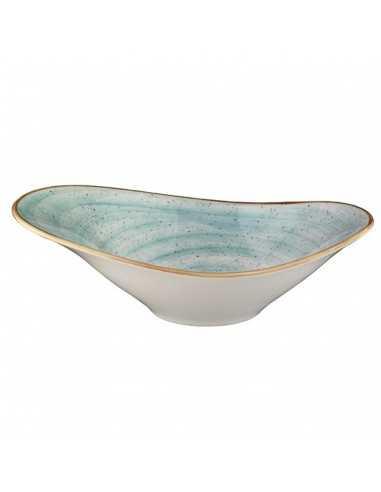 Bowl oval Porcelana Terrain. 27 x 18 cm (6 Uds) Precio unitario 39,38€