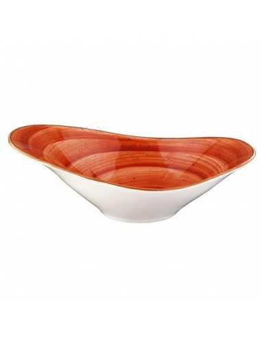 Bowl oval Porcelana Therapy 27 x 18 cm (6 Uds) Precio unitario 39,38€
