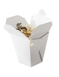 Caja de cartón para Noodles 6 x 5 x 6 cm (100 Uds) Precio unitario 0,25€€