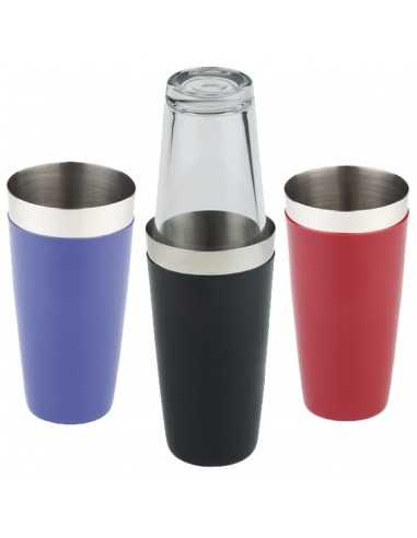 Coctelera inox con silicona y vaso 9 x 30 cm 700 ml (1 Ud) Precio