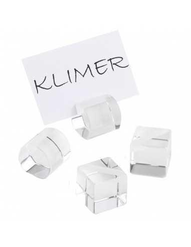 4 soportes de mesa cuadrados 3 x 3 x 3 cm (1 Ud) Precio 12,36€