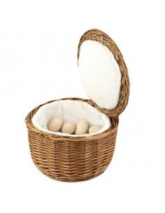 Cesta para huevos ø26 x 17 cm (1 Ud) Precio 16,99€