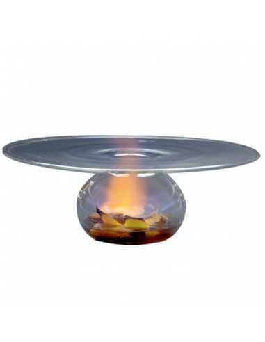 Plato vulcano de borosilicato. Varias medidas (1 Ud)