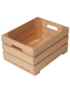 Mini caja madera 13 x 17 x 9 cm (12 Uds) Precio unitario 16,57€