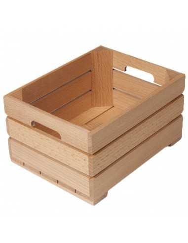 Mini caja madera 13 x 17 x 9 cm (12 Uds) Precio unitario 1,38€