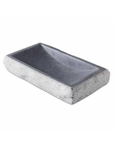 Plato granito doble cara 20 x 15 x 4 cm 300 ml (1 Ud) Precio 76,23€
