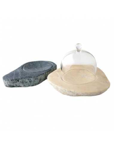 Bandeja faraón con campana 17 x 15 x 3 cm (1 Ud) Precio 64,38€