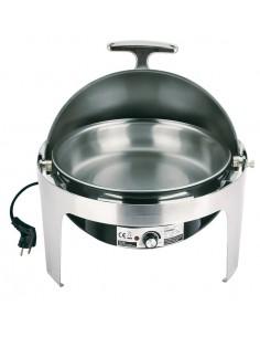 Chafing dish eléctrico roll top ø45 x 45 cm 6,8L (1 Ud) Precio 352.84€