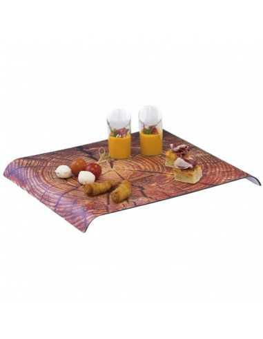 Bandeja baquelita madera 35 x 40 cm (1 Ud) Precio 15,73€