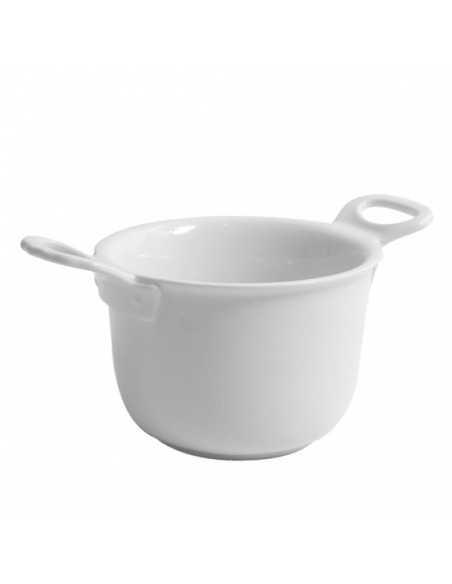 Mini bowl de pocelana con forma de olla