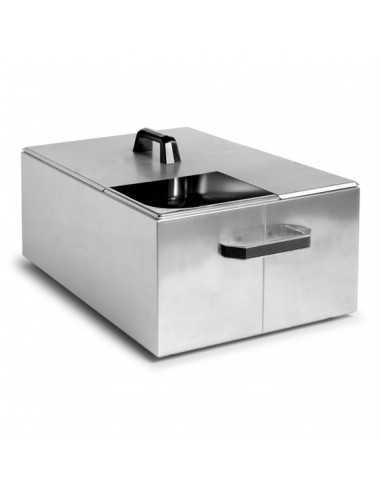 Cubeta con tapa inox. 20 L (1 Ud) Precio 542.08€