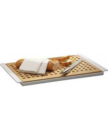 Tabla de haya corte de pan 52 x 34 x 2 cm (1 Ud) Precio 41.82€