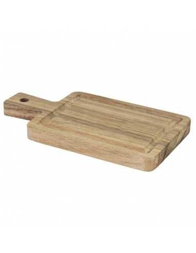Tabla rectangular acacia 10 x 19 cm (12 Uds) Precio ud 6,05€
