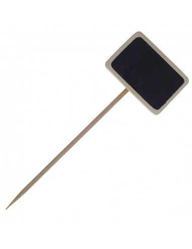 Brocheta pizarra 9'5 x 3'5 x 5 cm (100 Uds) Precio unitario 0,20€
