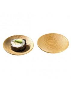 Mini plato redondo bambú ø6 cm (144 Uds) Precio ud 0,42€