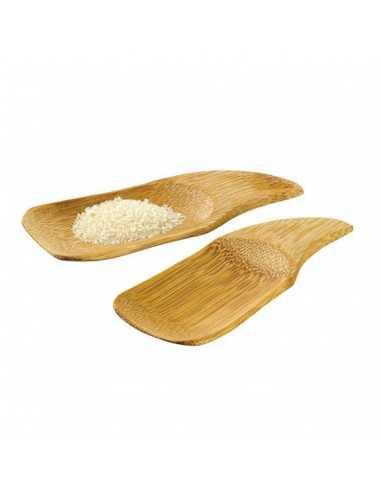 Platillo degustación bambú 10 x 6 cm (144 Uds) Precio ud 0,44€