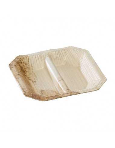Mini plato palma 2 compartimentos