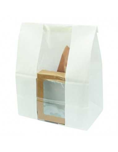 Bolsa blanca SOS con ventana transparente (500 Uds.)