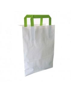 Bolsa reciclada blanca (250 Uds.)