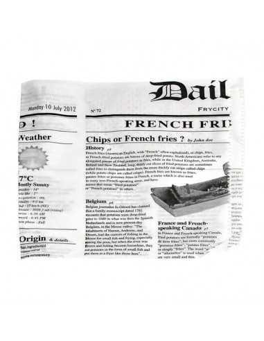 Bolsa abierta por dos lados con diseño periódico (1000 Uds.)
