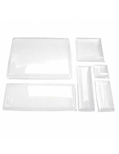 Tapa plástico plato pulpa