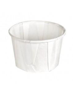 Tarrina papel plisado