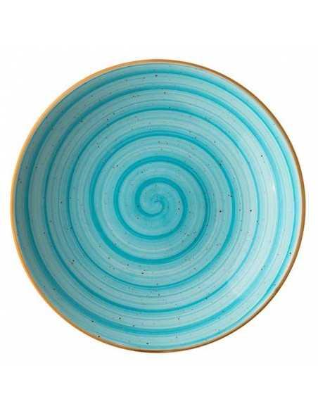 Ensaladera porcelana gourmet aqua. Varias medidas (6 Uds) Precio ud desde 3,21€