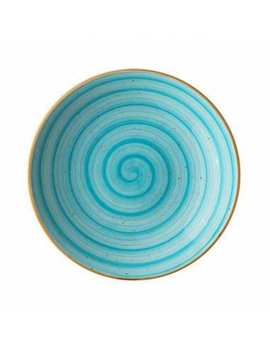 Plato hondo porcelana
