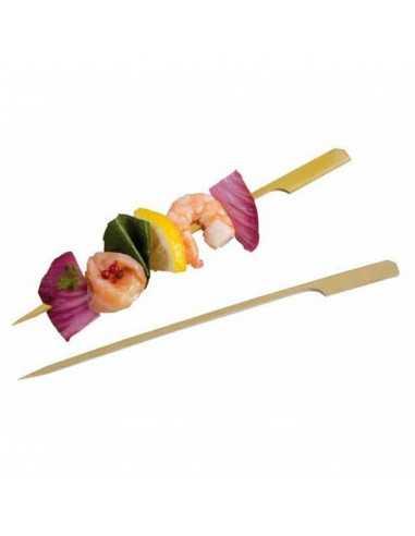 Brocheta de bambú Teppo Gushi 15 cm