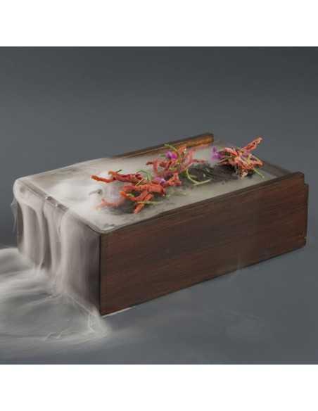 Caja de madera para emplatado