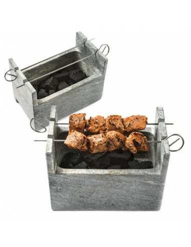 Barbacoa de piedra Charcoal Grill