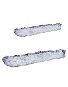 Bandeja cobalto rectangular Etnic. Varias medidas (6 Uds) Precio ud desde 15,12€