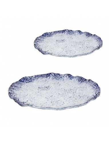 Plato cobalto redondo ø28x2 cm (4 Uds) Precio ud 20,57€