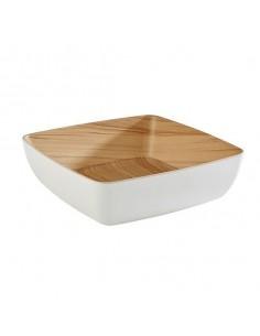 Bowl de melamina Frida 25 X25 X 7.5 CM