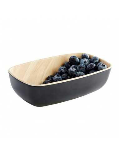 Bowl melamina Frida madera/negro GN 1/9