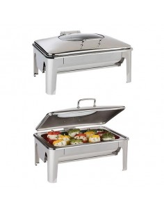 Chafing Dish easy induction Inox GN 1/1 9 L.